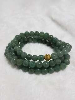 ♥Necklace GradeA Myanmar Jade
