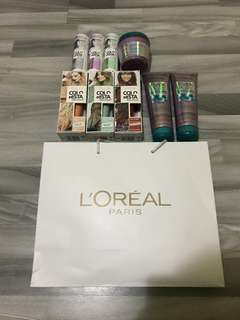 L'oreal Hair Care Shampoo Products (101% Authentic)