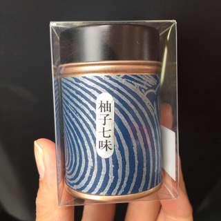 日本 柚子 七味粉