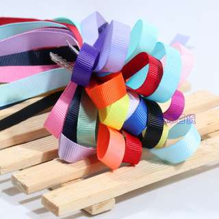 9mm Grosgrain Ribbons Plain Ribbons