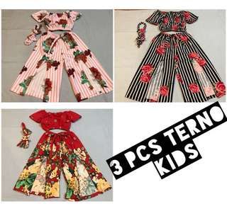 3pc Terno Kids