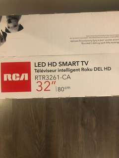 Roku tv (never opened)