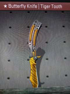 CSGO ★Butterfly Knife | Tiger Tooth Factory New