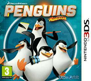 3DS Penguins Of Madagascar