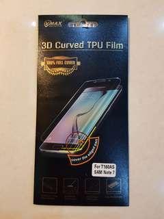 Samsung Note 7 3D Curved TPU Film