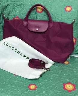Longchamp fuchsia large