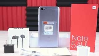 Xiaomi Note 5A + Xiaomi Earpiece Special