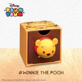 7-11 Disney Tsum Tsum百變組合BOX Winnie the Pooh 頭