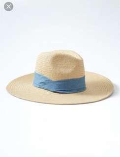 BRAND NEW! Wide brim straw hat