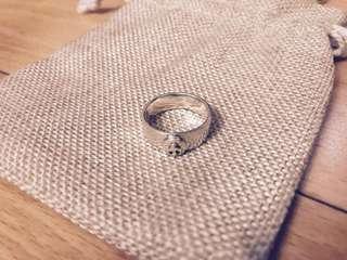 Goros 同款925 純銀手工戒指