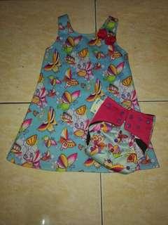 Ecopwet diaper and twinning dress