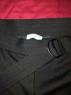 SANDRO PARIS high waisted dress pants
