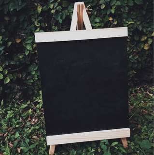 🚚 Tall chalkboard [Rental]