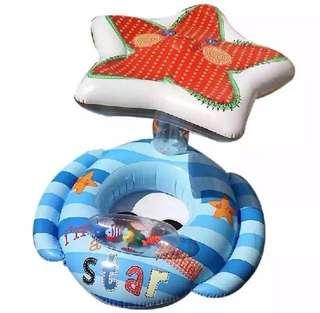 🚚 INTEX海星遮陽泳圈.座圈.原價$499