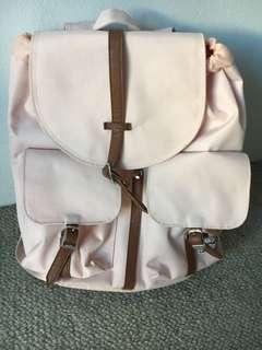 Herschel backpack in light pink