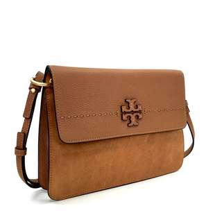 Tory Burch McGraw Mixed Suede