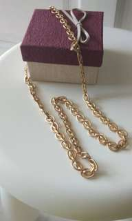 Mate gold necklace