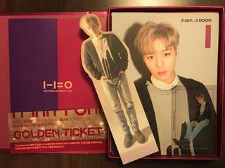 Wanna one nothing without you album(wannaone jihoon )