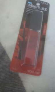 Vivid matte liquid lipstick rebel red