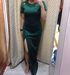 EMERALD GREEN Dress from Apartment8 Clothing