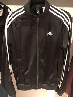 Adidas signature track suit jacket with 3 stripes