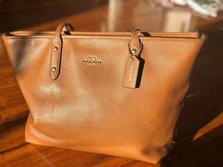 Authentic Used Preloved Coach Tote