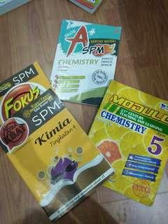 SPM Workbooks Chemistry