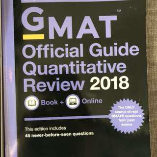 GMAT Official Guide Verbal And Math Review