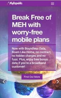 Myrepublic Broadband Signups