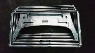 NISSAN FRAME PLATE HOLDER JAPAN