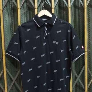 Polo Shirt /Kaos Kerah Element Black (Second Original)