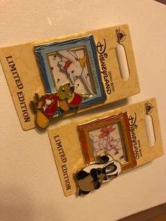 迪士尼徽章,经典动画系列产品 - Dumbo and Miss Bunny