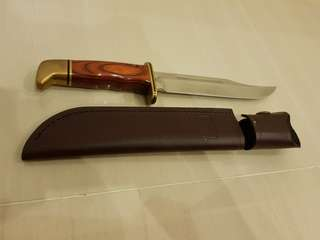"""Buck 119BR Special 6"""" Cocobolo Dymondwood Hunting Knife"""