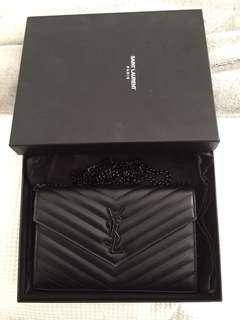 Saint Laurent Large Wallet on Chain RRP $2085