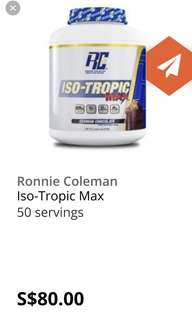 Ronnie Coleman iso tropic max