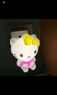 Hello Kitty LED night light