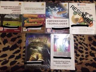 BUNDLE‼️ GRADE 11 BOOKS