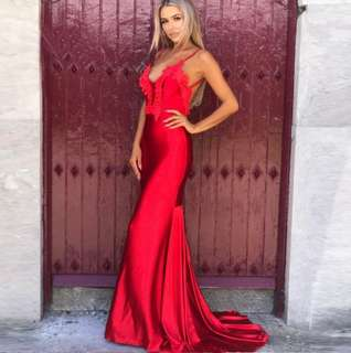 Majorca evening gown