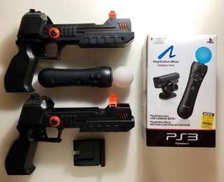 Playstation 3 (PS3) PS Move Shooting Set