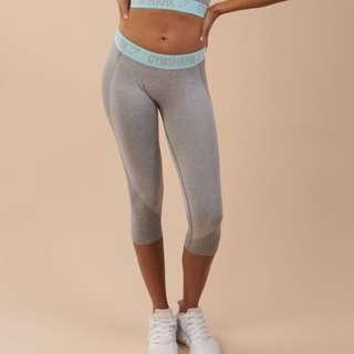 Grey Gymshark Flex Leggins