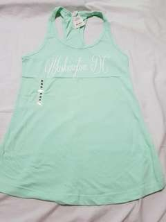 MINT GREEN RACERBACK