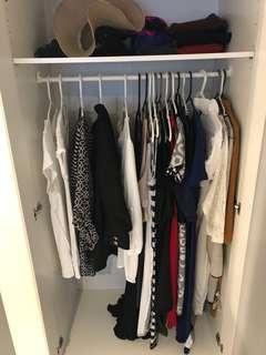 Cheap IKEA Wardrobe / Closet