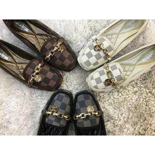 LV Inspired Doll Shoes