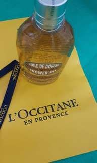 BN Loccitane Almond Shower Oil 250ml