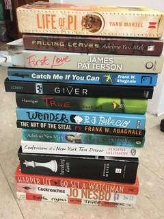Assortment Of Books