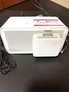 LG Alarm Clock and FM Radio