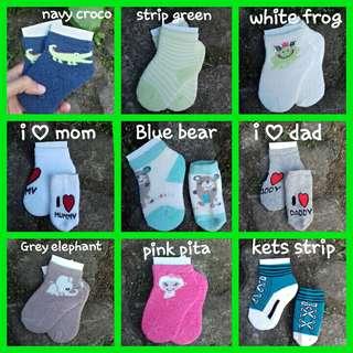 Kaos kaki bayi unisex