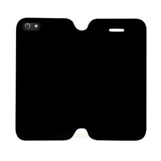 Black Colour iPhone 6 - 6s Custom Flip Case