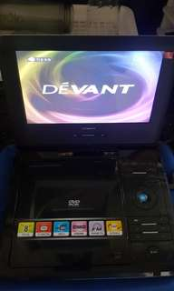 DEVANT MINI CD/DVD PLAYER/PORTABLE with USD port