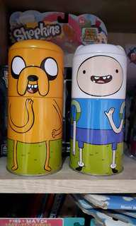 cartoon network finn and jake adventure time original tin pencil case
